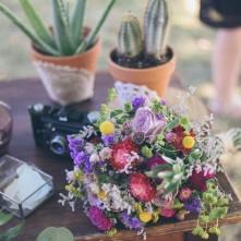 Fleuriste bohème mariage lande set pays basque