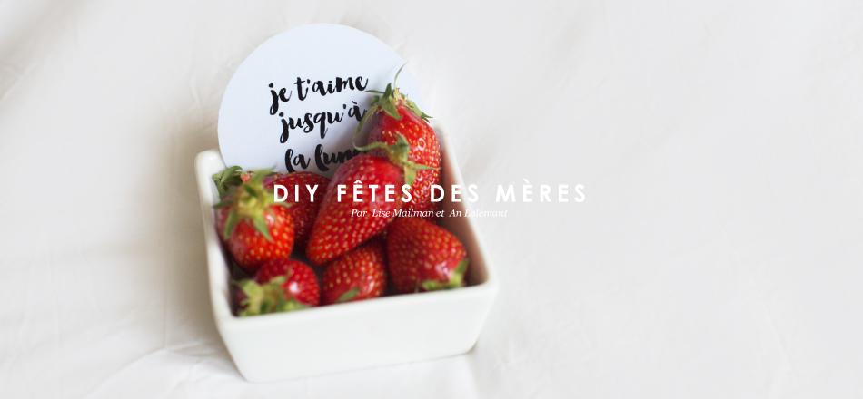 DIY Fêtes des mères 2015