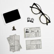 DIY Fête des pères, DIY father's day, Carte de membre, Membership card,