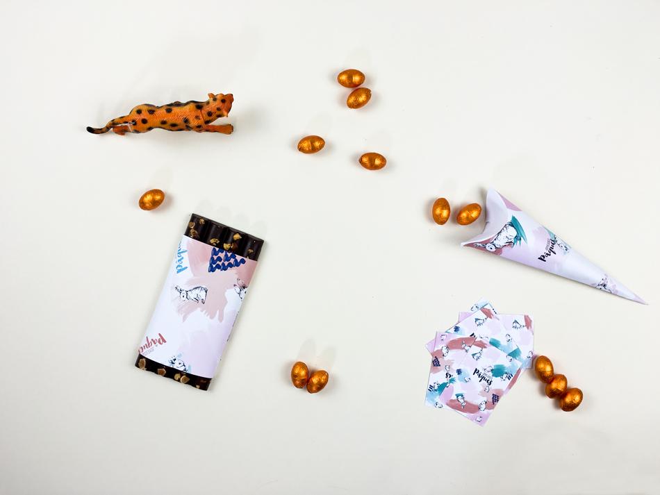 do it yourself decoration de pâques par ruban collectif, pochette surprise à faire soi même