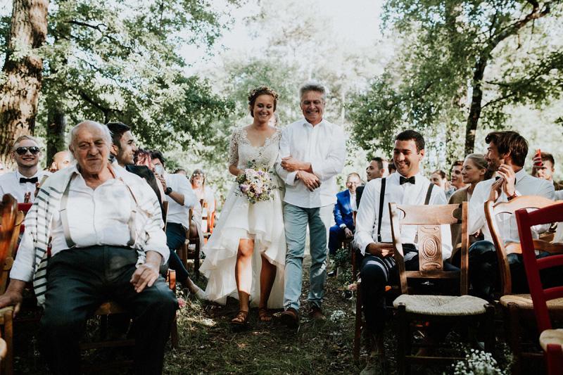 bouquet de la mariée bohème