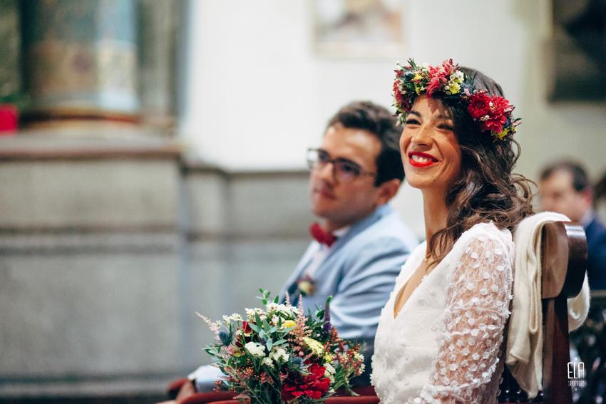 Couronne de fleurs de la mariée te bouquet de la mariée