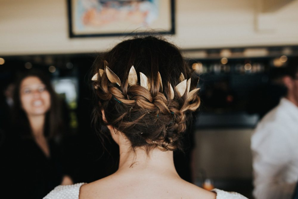 accessoires doré mariage